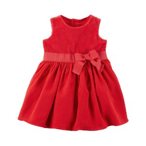Holiday Bow Dress