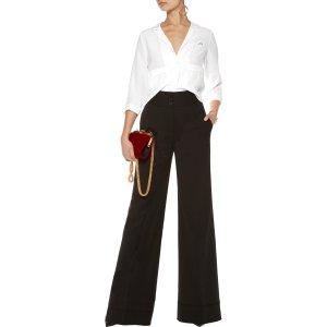 + Kate Moss Lake washed-silk pajama top | Equipment