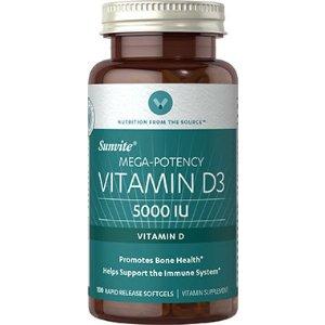 Vitamin D3 5000 IU at Vitamin World
