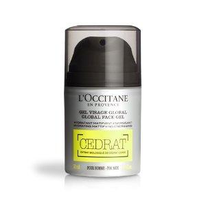 Mattifying face moisturizer | Cedrat Global Face Gel L'Occitane
