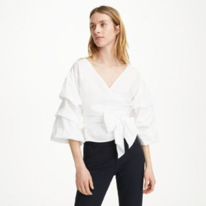 Women | Long Sleeve | Bindell Top | Club Monaco