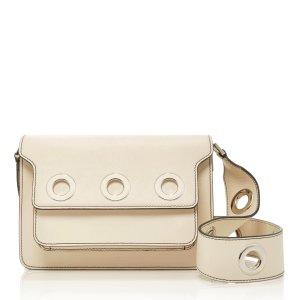 Embellished Leather Shoulder Bag by Marni