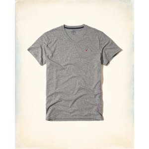Guys Must-Have V-Neck T-Shirt | Guys Up to 50% Off Summer Sale | HollisterCo.com