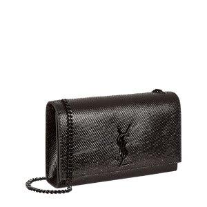 Saint Laurent Medium Kate Embossed Monogram Python Bag