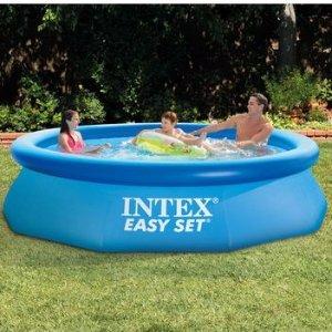 INTEX 10 ft x 30 in Easy Set Pool
