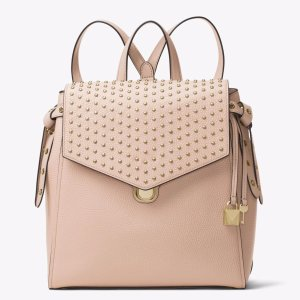 Bristol Medium Studded Leather Backpack