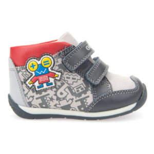 Geox B EACH BOY in GREY/NAVY - Shop Geox - Product