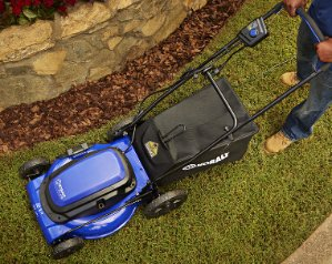 Kobalt 13-Amp 21-in Deck Width Corded Electric Push Lawn Mower with Mulching Capability