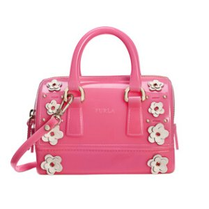 FURLA CANDY LILLA MINI SATCHEL ROSE a