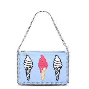 Stella MccartneySky Blue Falabella Ice Cream Purse