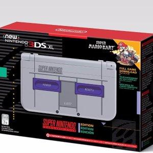 $199.99 Pre-OrderNintendo New 3DS XL - Super NES Edition