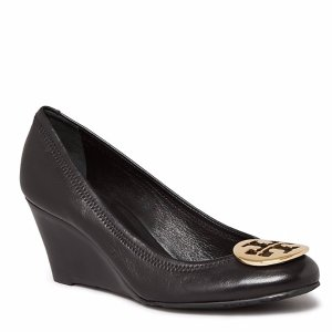 Tory Burch Wedge Pumps - Sally Mestico | Bloomingdale's