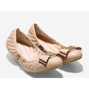 Tali Bow Quilted Ballet Flat