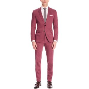 'Reyno/Wave' | Extra-Slim Fit, Stretch Cotton Suit