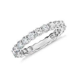 Classic Diamond Eternity Ring in Platinum (3 ct. tw) | Blue Nile