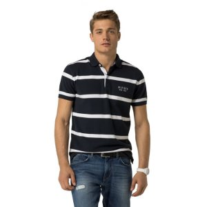 CLASSIC FIT STRIPE POLO   Tommy Hilfiger