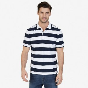 Classic Fit Heritage Striped Polo Shirt