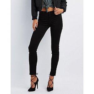 Refuge Skin Tight Legging Black Jeans | Charlotte Russe