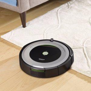 $274.99 (原价$379.99)黒五价:iRobot Roomba 690 Wi-Fi 扫地机器人