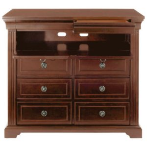 Providence Bedroom TV Stand in Antique Espresso