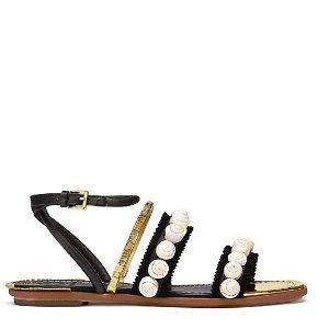 Tory Burch 珍珠凉鞋