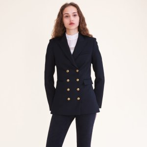 VAHINA Eight-button double-breasted jacket