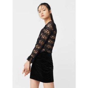 Lace blouse - Women | OUTLET USA