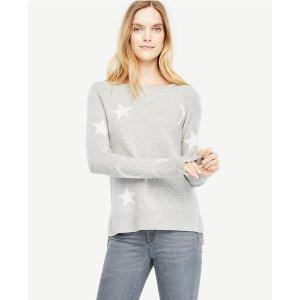Stellar Wool Blend Sweater | Ann Taylor