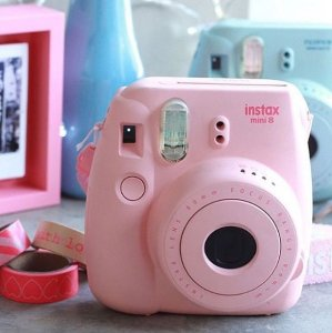 $49.99自拍神器!Fujifilm Instax mini 8 拍立得-粉色