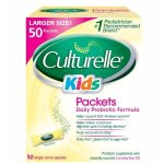 Culturelle Probiotics for Kids Packets, 50 Count