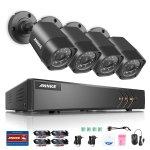 8-Channel Sannce Annke Surveillance System + 4x 720p Cameras
