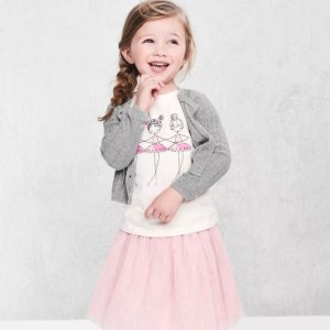 Extra 40% Off + Free ShippingBaby and Kid's Clothing @ Gap