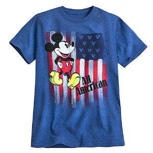 Mickey Mouse Americana Tee for Men | Disney Store