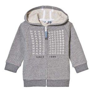Little Marc Jacobs Grey Branded Hoody | AlexandAlexa