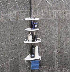 $17.24Homitex 浴室墙角4层置物架