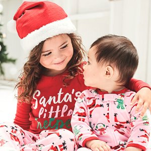 Ending Soon: 60% Off + Extra 25% Off $40Free Shipping Jammies @ Carter's