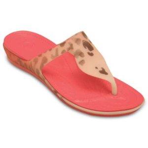 Women's Crocs Rio Leopard Fade Flip | Women's Flips | Crocs Official Site