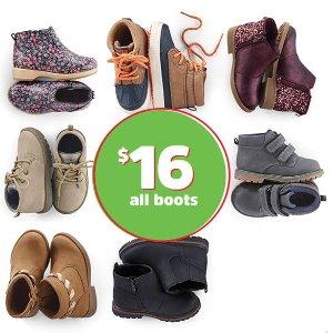 16Kids Shoes Doorbuster @ OshKosh BGosh