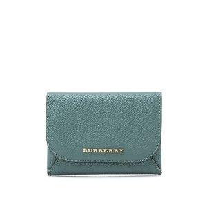 Burberry Soft Grain Haymarket Colour BL Mayfield New Card Case