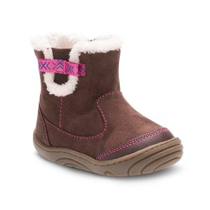 Stride Rite Chocolate SR Eliza Boot | zulily