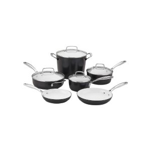 Non-Stick Cookware Set (10 PC) by Cuisinart at Gilt