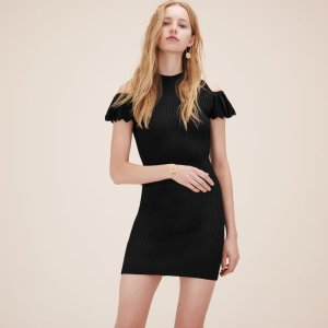 ROXANE Stretch knit dress - Dresses - Maje.com