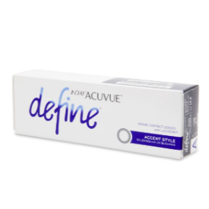 1 Day Acuvue Define Accent 30 Pack | Coastal.com
