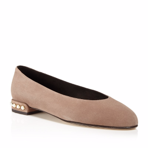 Chicpearl Suede Flats