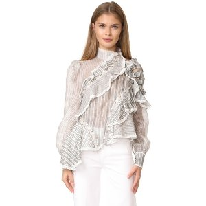 Zimmermann Cavlier Antique Shirt | 15% off first app purchase with code: 15FORYOU
