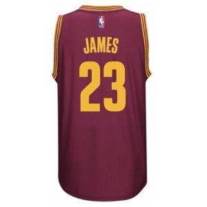 adidas NBA Revolution 30 Swingman Jersey - Men's - Clothing - Cleveland Cavaliers - LeBron James - Maroon