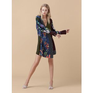 Cross Over Dress | Landing Pages by DVF