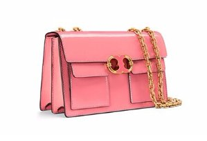 Last Day!Up to 30% Gemini Patent Chain Shoulder Bag @ Tory Burch