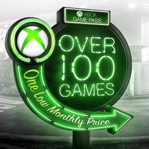 $1 一个月Xbox Game Pass 经典游戏畅玩会员