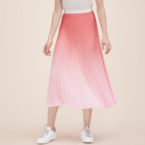 JONAELLE Pleated tie-dye midi skirt - Skirts & Shorts - Maje.com